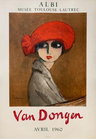 Lithographie Van Dongen - Le Coquelicot