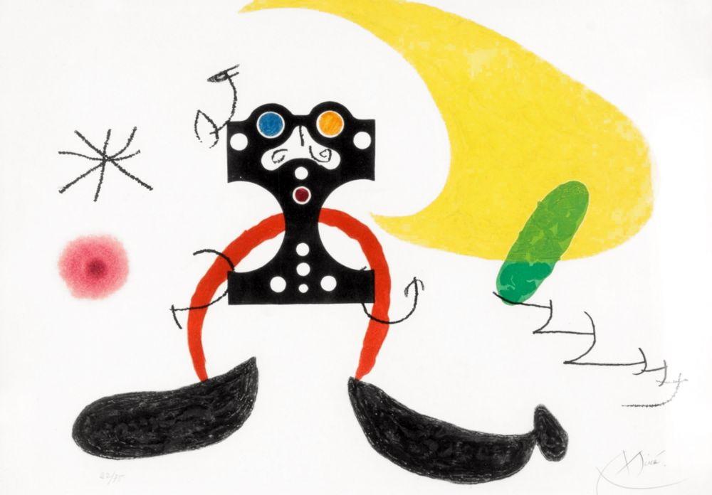 Carborundum Miró -  Le Cosmonaute