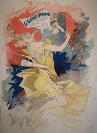 Lithographie Cheret - Le Courrier Français