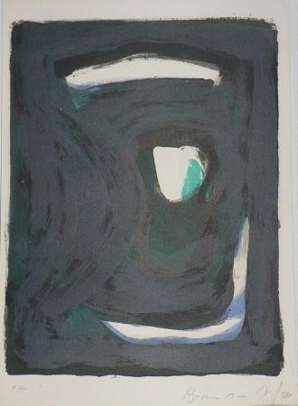 Lithographie Van Velde - Le crime d'une nuit