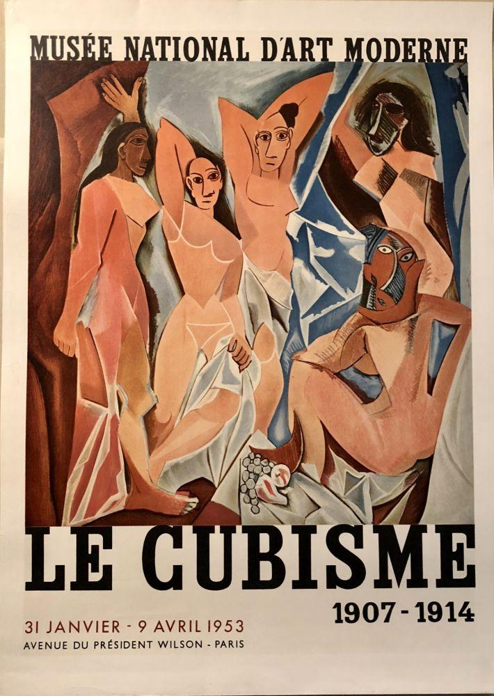 Lithographie Picasso - Le Cubisme 1907-1914 - Musée National d'A