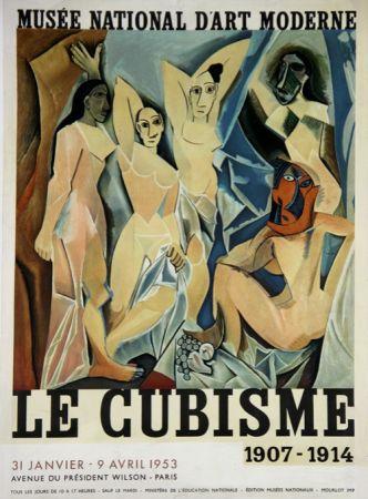 Lithographie Picasso - Le Cubisme  , D'apres Les Demoiselles D'Avignon