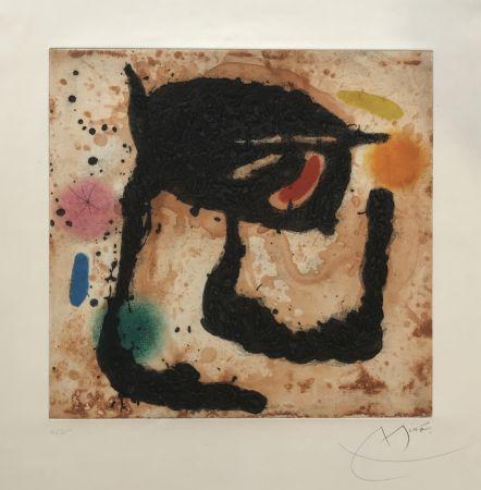 Eau-Forte Et Aquatinte Miró - Le Dandy