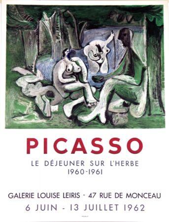 Lithographie Picasso - Le Dejeuner Sur L'herbe  Galerie Louise Lieris