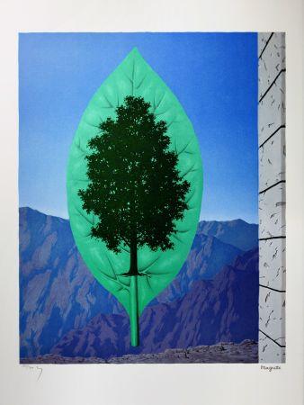 Lithographie Magritte -  Le Dernier Cri (The Last Word)