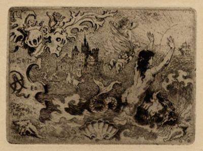 Livre Illustré Buhot - Le diable amoureux
