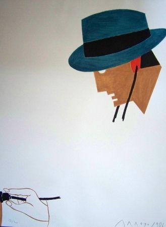 Lithographie Arroyo - Le docteur