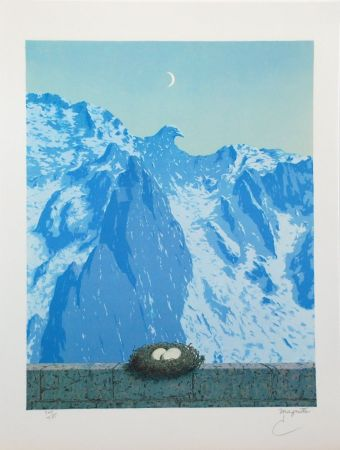 Lithographie Magritte - Le Domaine d'Arnheim