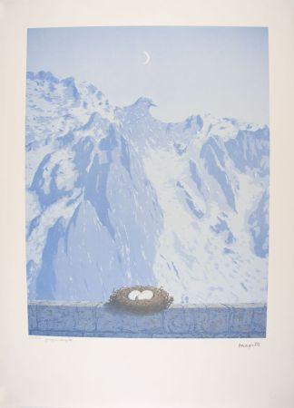 Lithographie Magritte - Le Domaine d'Arnheim - The Arnheim Field