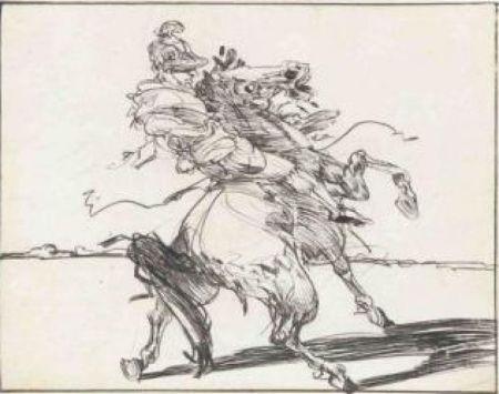Gravure Weisbuch - Le Dragon