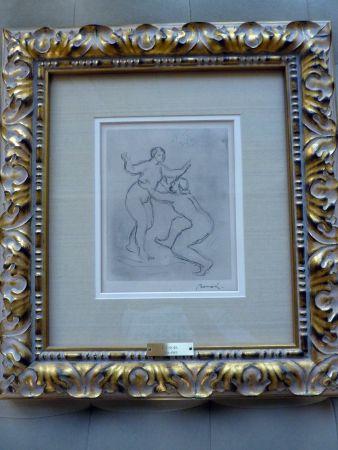 Gravure Renoir - Le Fleuve Scamandre