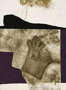 Aquatinte Clavé - Le gant de New York