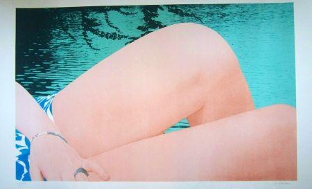 Sérigraphie Schlosser - Le genoux