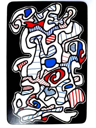 Lithographie Dubuffet - Le Gitan