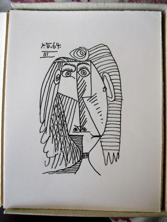 Livre Illustré Picasso - Le Gout du Bonheur: A Suite of Happy, Playful, and Erotic Drawings