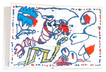 Livre Illustré Alechinsky - LE GRAND JAMAIS - Alechinsky/Joyce Mansour/Matta