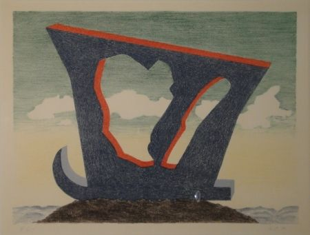 Lithographie Oppenheim - Le grand liparide, Silberschwanz.