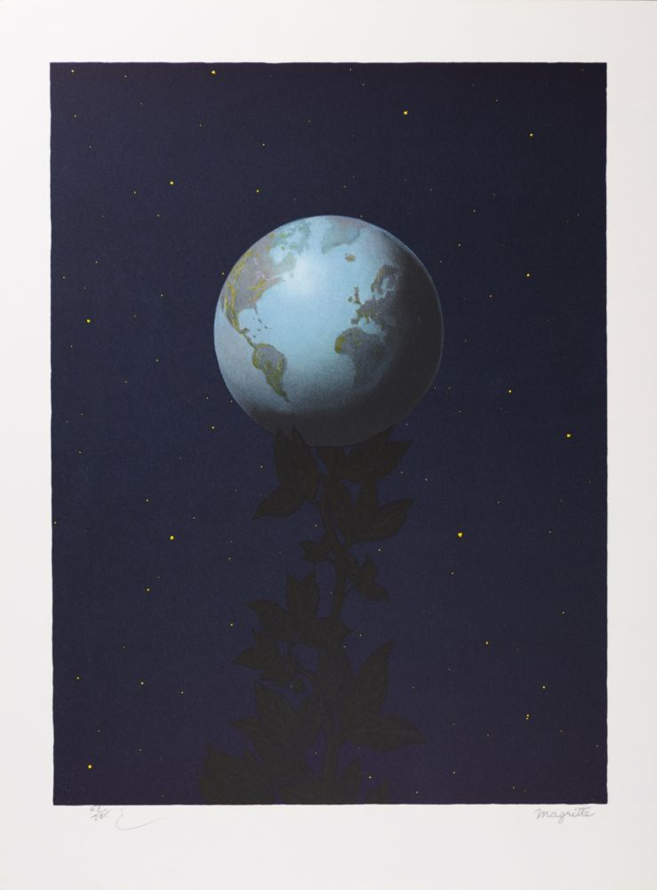 Lithographie de Rene Magritte, Le Grand Style (The Great ...