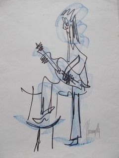 Multiple Gianangelli - Le guitariste