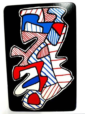 Lithographie Dubuffet - Le Hochet