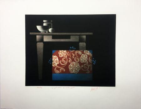 Aquatinte Avati - Le Japonais du Père Sagot (1974)