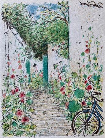 Lithographie Cassigneul  - Le Jardin