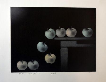 Manière Noire Avati - Le jeu de pommes