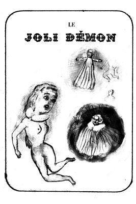 Lithographie Dutertre - Le joli démon