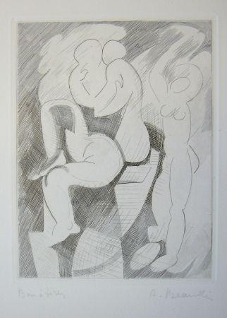 Gravure Beaudin - Le Jongleur 1