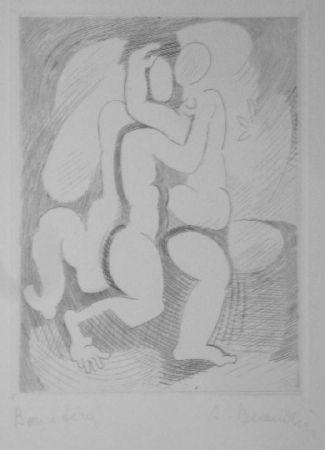 Gravure Beaudin - Le Jongleur 2