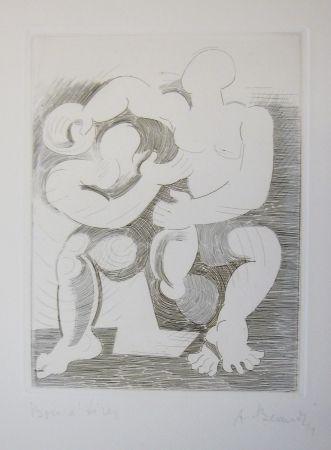 Gravure Beaudin - Le Jongleur 3