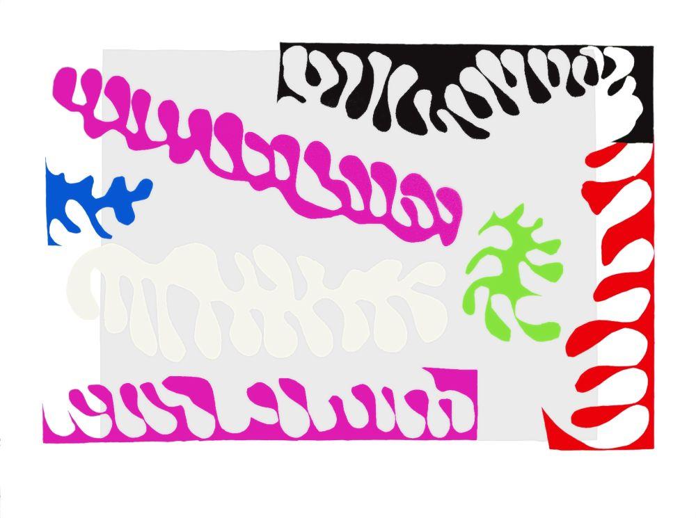 Lithographie Matisse - Le Lagon I (Lagoon I)