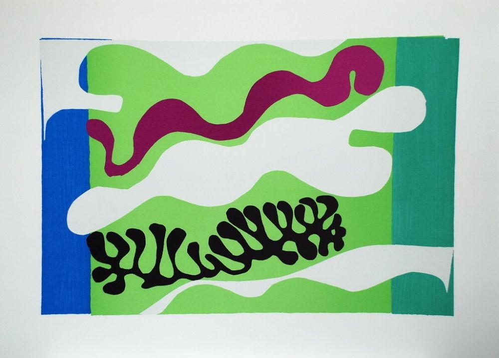 Collographie Matisse - Le Lagon II (Lagoon II)