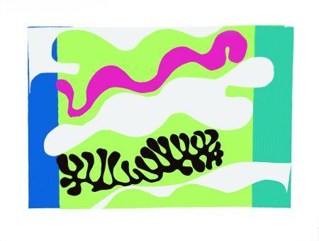 Lithographie Matisse - Le Lagon II (Lagoon II)