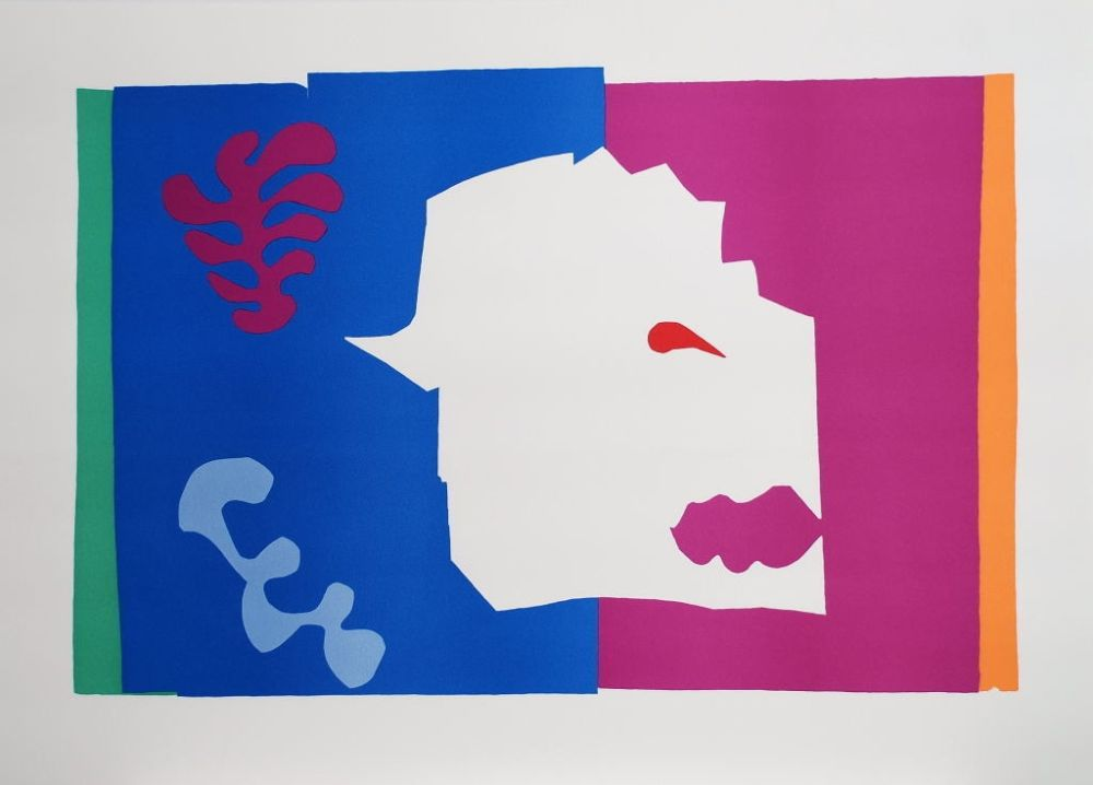 Collographie Matisse - Le Loup (The Wolf)