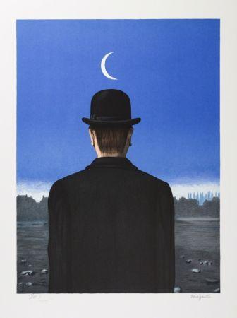 Lithographie Magritte - Le Maître d'École