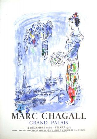 Lithographie Chagall - Le Magicien