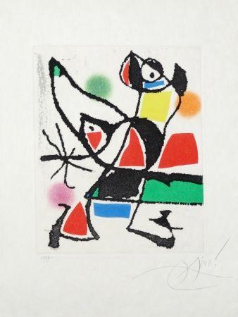 Eau-Forte Et Aquatinte Miró - Le marteau sans maître
