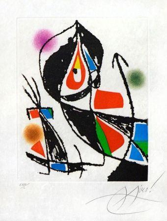 Eau-Forte Et Aquatinte Miró - Le Marteau Sans Maitre XXI (The Hammer Without a Master XXI), 1976