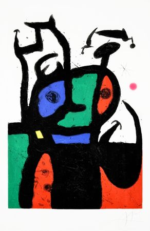 Eau-Forte Et Aquatinte Miró - Le Matador