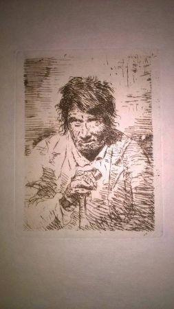 Gravure Lucas - Le mendiant (The Beggar)