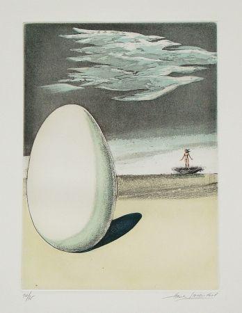 Eau-Forte Et Aquatinte Laventhol - Le miroir aux alouettes
