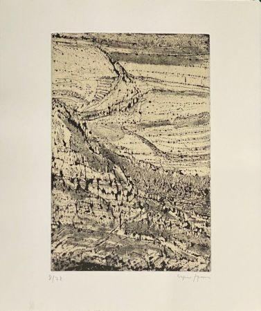 Eau-Forte Szenes - Le monde de l'art n'est pas le monde du pardon