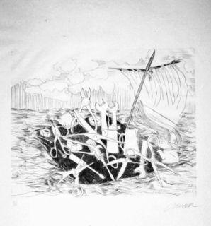Livre Illustré Arman - Le naufrage de Méduse