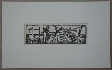 Lithographie Van Velde - Le Noir est une couleur