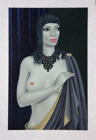 Lithographie Labisse - Le Nu avec le Cap - Nude with a Cape
