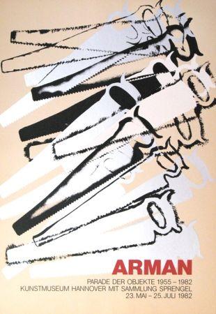 Sérigraphie Arman - '' Le Parade des Objets ''
