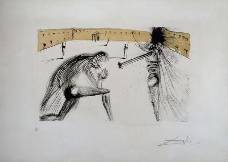 Gravure Dali - Le Pardon de Sigismund