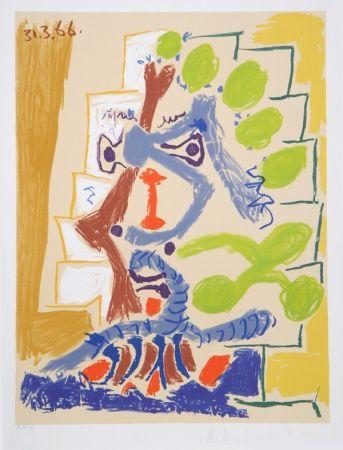 Lithographie Picasso - Le Peintre