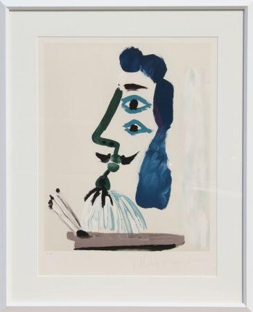 Lithographie Picasso - Le Peintre et sa Palette